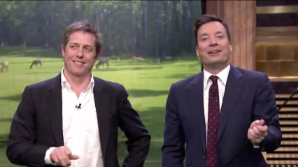 Golf Tonight Show Hugh Grant Charles Barkley