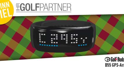 Gewinnspiel mit IhrGolfpartner: Sie können ein GPS-Armband von GolfBuddy gewinnen (Foto: Golf Post)