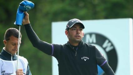 Pablo Larrazabal gewinnt die BMW International Open mit Schlägern von Callaway. (Foto: Getty)