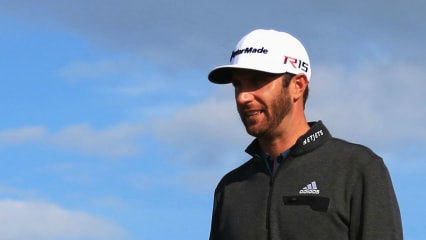Dustin Johnson British Open 2015