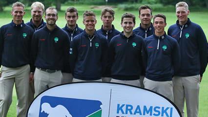 Der Golfclub Hubbelrath sichert sich mit dem Tagessieg auch das Ticket fürs Final Four. (DGV/stebl)