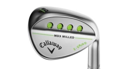 Das Callaway MD3 Milled Wedge kostet 149 Euro und kommt am 4. September in den Handel. (Foto: Callaway)