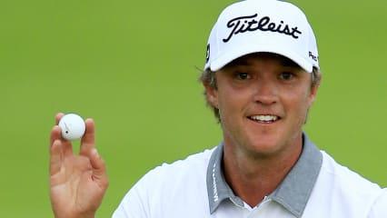 Bei der PGA Championship 2015 ist der noch unbekannte Australier Matt Jones ganz vorne mit dabei. (Foto: Getty)