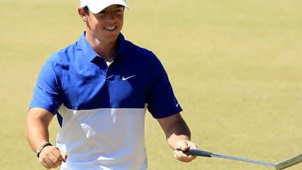 Rory McIlroy kann nicht nur 'normales' Golf spielen. (Foto: Getty)