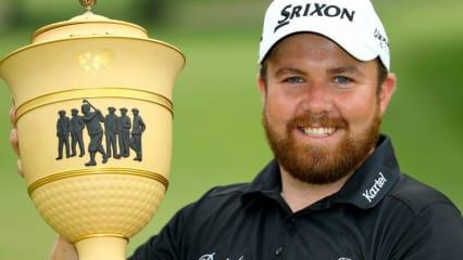Shane Lowry ist der strahlende Sieger des WGC Bridgestone Invitational. (Foto: Getty)