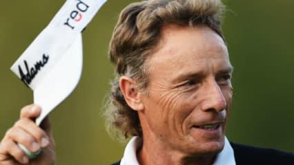 Auf dem Weg zur Dreistelligkeit: Bernhard Langer zeigt seinen jungen Kollegen, wie man sich auch im fortgeschrittenen Golf-Alter an die Spitze spielt. (Foto: Getty)