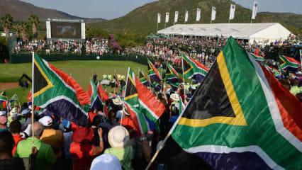Die Nedbank Golf Challenge wird auf dem Gary Player CC ausgetragen - auch Nelson Mandela war bereits Gast in Sun City, (Foto: Getty)