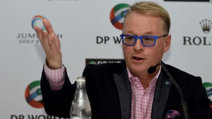 Keith Pelley, CEO der European Tour will Slowplay bekämpfen: