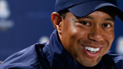 Tiger Woods freut sich auf eine neue Herausforderung. Beim Ryder Cup in Hazeltine wird er als Vize-Kapitän dabei sein. (Foto: Getty)