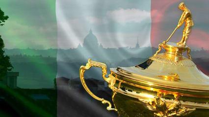 Italien wird Gastgeber des Ryder Cup 2022! Der Kontinentalvergleich findet nahe der Hauptstadt Rom statt. (Foto: Getty)