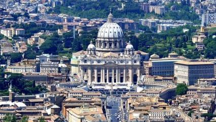 Blick auf Rom und den Vatikan. Hier wird 2022 der Ryder Cup stattfinden. (Foto: Getty)