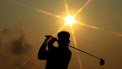 Auf dem Amata Spring Country Club der Sonne entgegen. (Foto: Getty)