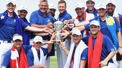 Der Sieg war nie in Gefahr: Team Europa gewinnt den EurAsia Cup 2016. (Foto: Getty)