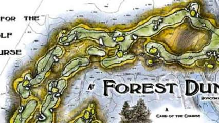In umgekehrter Reihenfolge über den Golfplatz? Kein Problem auf dem Forest Dunes. (Foto: Screenshot)