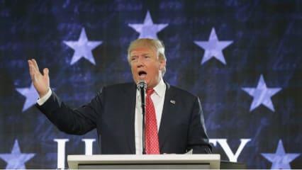 Umstrittener Charakter: Donald Trump sorgt selbst in Großbritannien für Debatten. (Foto: getty)