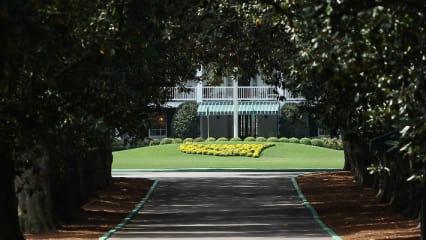 Die Magnolia Lane ist die wohl bekannteste Straße in Georgia. Sie führt über 300 Meter vom Eingangtor zum Augusta National Clubhaus. (Foto: Getty)