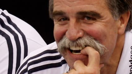 Ex-Handballer und Nationaltrainer Heiner Brand spielt in seiner Freizeit gerne eine Runde Golf.