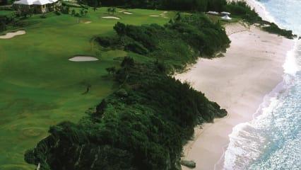 Mid Ocean Golf Club: Etliche Bahnen verlaufen entlang des Atlantiks. (Foto: www.world-travel.net)