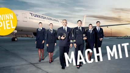 Gewinnen Sie jetzt beim Turkish Airlines Gewinnspiel Business Class Flüge weltweit. (Bild: Turkish Airlines)