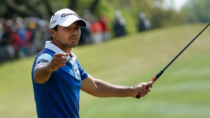 Jason Day mit seinem TaylorMade Ghost Spider Itsy Bitsy Prototype Putter. (Foto: Getty)