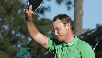 Danny Willett gewinnt das US Masters 2016 in Augusta nach einem spannenden Finale. (Foto: Getty)