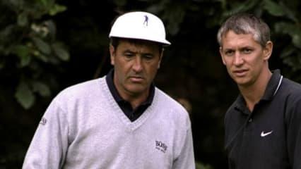 Gary Lineker führt durch die BBC-Dokumentation über Severiano Ballesteros. (Quelle: Getty)