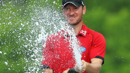 Chris Wood gewinnt die BMW PGA Championship. (Foto: Getty)