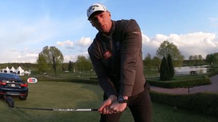 Long Drive Champion Joe Miller gibt Tipps. (Foto: Screenshot_Youtube@Golfpost)