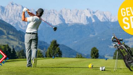 Erleben Sie traumhafte Bergpanoramen in den österreichischen Golfurlaubsdestinationen. (Foto: Golf in Austria)