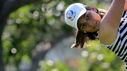 Karolin Lampert erzählt im Interview mit Golf Post von ihren sportlichen Zielen. (Foto: Getty)