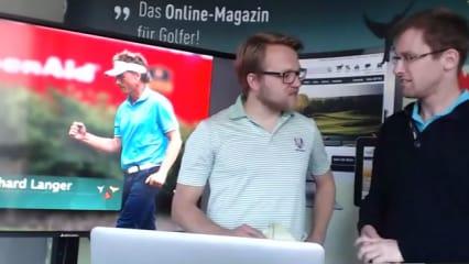 Bernhard Langers Lebenswerk wird gewürdigt. Auch von unseren Experten im Golf Post Talk. (Foto: Screenshot)