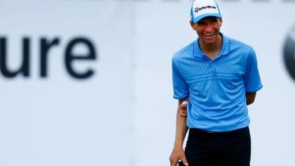 Thomas Müller bezeichnet sich als Top-Golfer der Bayern. Die Back Nine. (Foto: Getty)