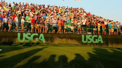 Die USGA machte Dustin Johnson seine Finalrunde schwieriger, als sie ohnehin schon war. (Foto: Getty)