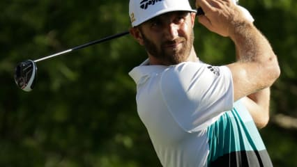 Dustin Johnson in Lauerstellung bei der FedEx St. Jude Classic. (Foto: Getty)