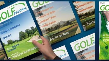 GolfRegional: Zeitschrift und Onlinemagazin für Golferinnen und Golfer. (Foto: GolfRegional, Fotolia)