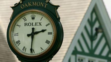 Es wird Zeit für die US Open. Die Oakmont-Uhr ist schon bereit. (Foto: Getty)
