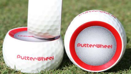 Mit dem Putter Wheel lässt sich beim Golftraining sofort erkennen, was falsch läuft. (Foto: twitter.com/SwingBySwing)