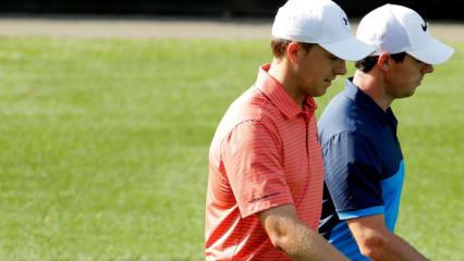 Für Jordan Spieth's und Rory McIlroy geht's weiter beim Memorial Tournament. (Foto: Getty)