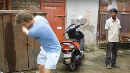 Adventures in Golf Video Slum Golf Mumbai