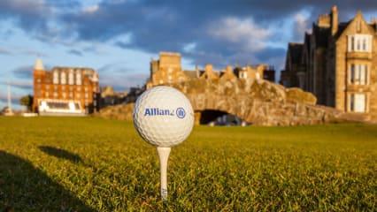 Eine starke Kooperation: Allianz unterstützt den Golfsport auch in Zusammenarbeit mit dem Golf Club St. Andrews. (Foto: Allianz)