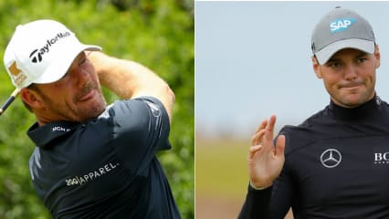 Alex Cejka (links) und Martin Kaymer vertreten Deutschland bei den Olympischen Spielen Im Golf. (Foto: Getty)
