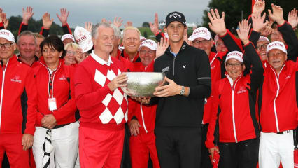Der Belgier Thomas Pieters gewinnt die Made in Denmark. (Foto: Getty)
