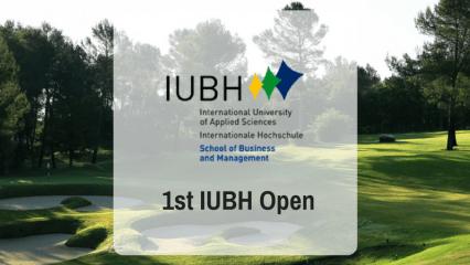 1st IUBH Open - Studenten spielen für einen karitativen Zweck