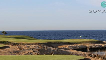 Signature Hole aus der Feder von Gary Player in Anlehnung an Pebble Beach - was ein Erlebnis! (Foto: Golf Post)