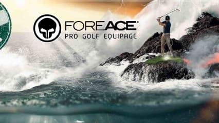 Laut, offensiv und mit spektakulären Namen und Bildern versehen will Forace den Golfball-Markt erobern. (Foto: foreace.com)