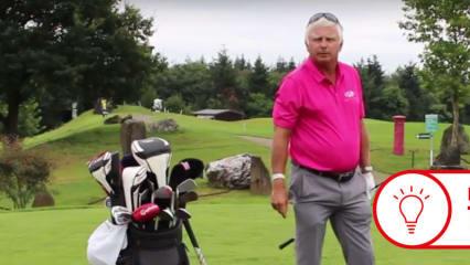 Ob mit oder ohe Schläger - Frank Adamowicz weiß, wie wichtig das richtige Warm Up vor der Runde ist. (Foto: Golf Post)