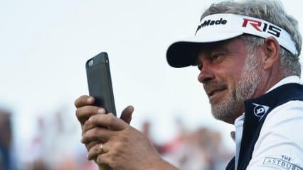 Darren Clarke und viele andere Golf-Promis gaben auf Twitter ihren Senf zur Wahl dazu. (Foto: Getty)