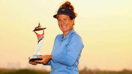Beth Allen gewinnt die erste Ausgabe der Fatima Bint Mubarak Ladies Open. (Foto: Getty)