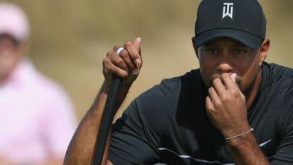 Tiger Woods machte bei seinem Comeback bei der Hero Wolrd Challenge zum Auftakt lange eine gute Figur.