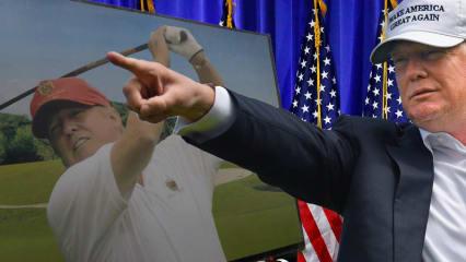 Donald Trump wird der 45. Präsident der Vereinigten Staaten und mit ihm zieht auch ein weiterer Golfer ins Oval Office ein. (Foto: Getty)